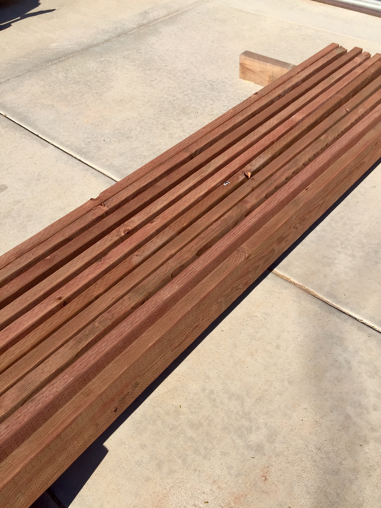 wood for garden bed