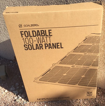 GoalZero Foldable Solar Panel