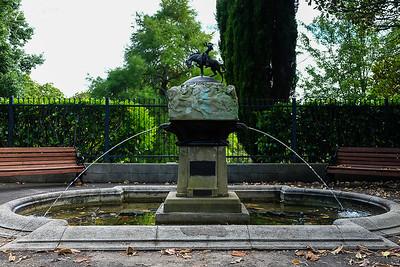 Auckland: Valkyrie Fountain in the Auckland Domain