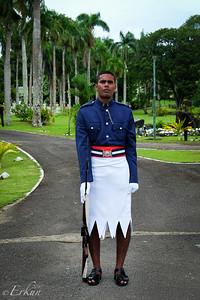 Suva - Presidential Palace Guard