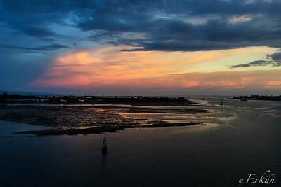Sunset @ Benoa Port