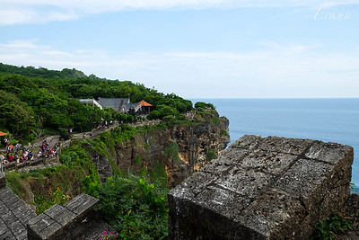 Uluwatu Temple Grounds (Looking in one direction from about the middle)