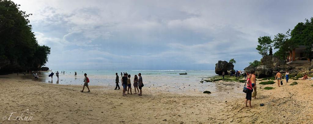 Padang Padang Beach Panorama