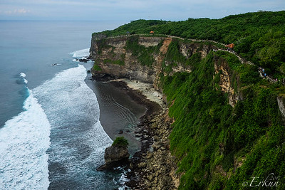 Uluwatu Temple Grounds (Looking in the other direction from the temple)
