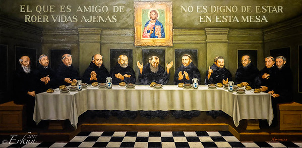Museo San Agustin: Church & Monastery ... the Refectory ... love for sharing.