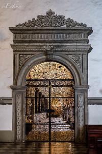 Museo San Agustin: Church & Monastery ... painted facade