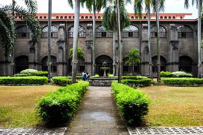 Museo San Agustin: Church & Monastery —  courtyard.