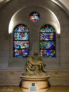 Manila Cathedral: La Pieta