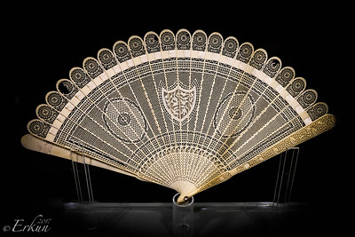 Museo San Agustin: Church & Monastery — Ivory Fan from Canton, China