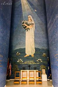 Manila American Cemetery: Inside the Chapel