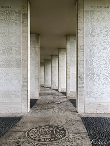 Manila American Cemetery: Wall of Missing