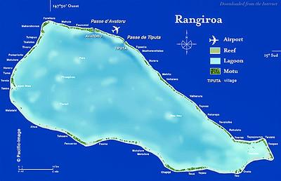 02-05 Rangiroa Motu Map