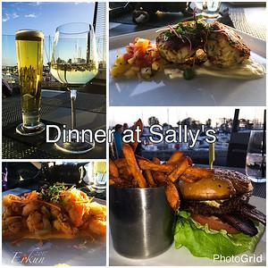 Dinner @ Sally's