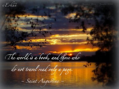 The world is a book ...