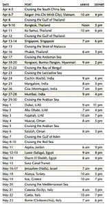 Itinerary: Page 3