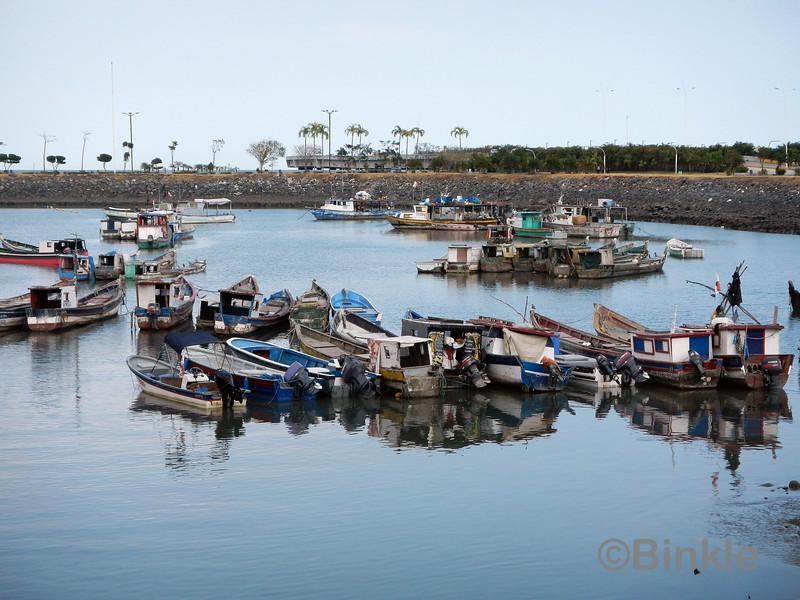 Der Fischerhafen bei Casco Viejo<br /> Fishing port next to Casco Viejo