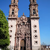 Santa Prisca am Zócalo (Plaza Borda)<br /> Church of Santa Prisca situated at the Zócalo (Plaza Borda)