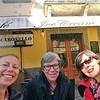 """Mit meiner Mutter und meiner Tante Marianna geniesse ich """"la dolce vita""""<br /> With my mom und my aunt Marianna I enjoy la """"dolce vita"""" in Italy"""