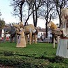 Weihnachtskrippe im Stadtpark<br /> Nativity set in the town park