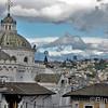 Dächer der Catedral Metropolitana de Quito<br /> Roofs of the Catedral Metropolitana de Quito