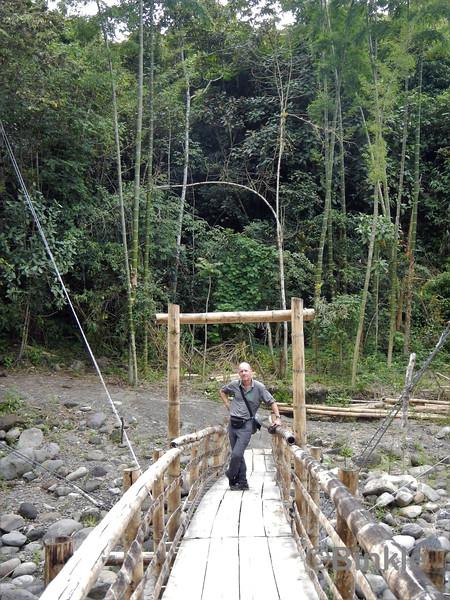 Zugang zu Tierradentro<br /> Access to Tierradentro