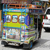 Tuktuks sind genauso bunt wie die Stadt, Guatapé<br /> Tuktuks are just as colorful as the town, Guatapé