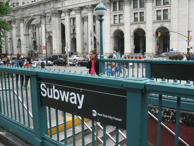 Brooklyn Bridge/City Hall stop