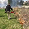 Controlled burn of the RU Schaumburg Campus prairie