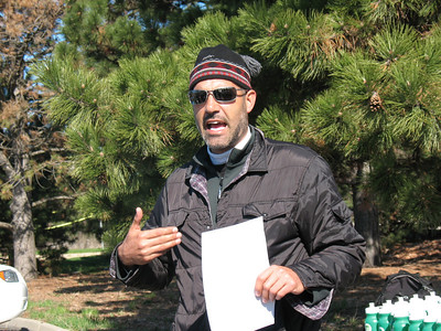 """John Eskandari, the """"Urban Plantsman,"""" gives us brief but excellent presentation on soil health and conservation, composting, and the value of gardening."""