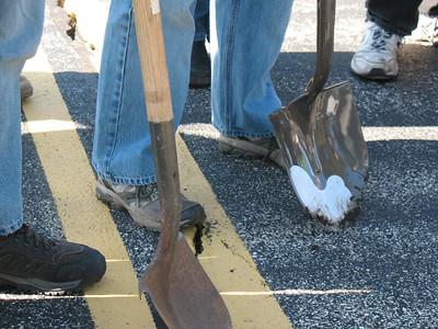 Shovels at the ready!
