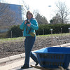 MaryBeth Radeck, SUST major and Environmental Sustainability Associate at RU's Schaumburg Campus, handles logistics and communication about the Community Garden.