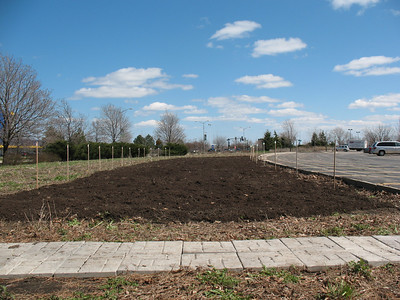 Newly-enriched soil = the promise of spring.