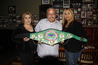 L-R: DIANE (Daughter), RALPH ROMERO Founder of the B.C.R., and Angela (Niece).