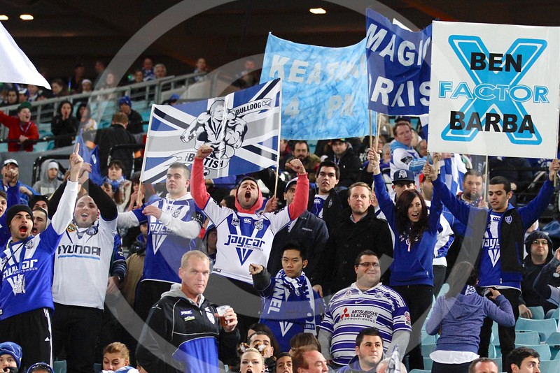 CANTERBURY-BANKSTOWN BULLDOGS FANS