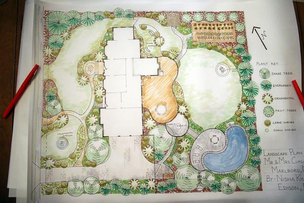 RU Cont.Ed Landscape Design Basic Skills work Winter 2014