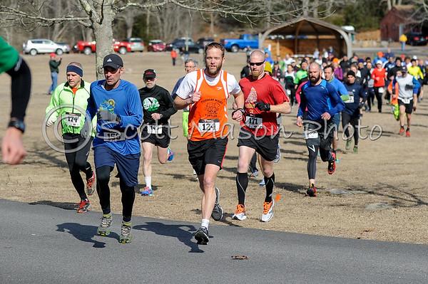 Brrr-lingame 10m Trail Race 2014