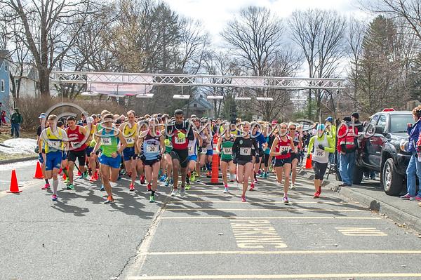 Amherst 10 Miler 2017 - 5 Miles Mark