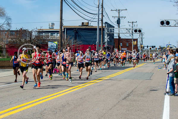 Boston Marathon 7 Miles 2017