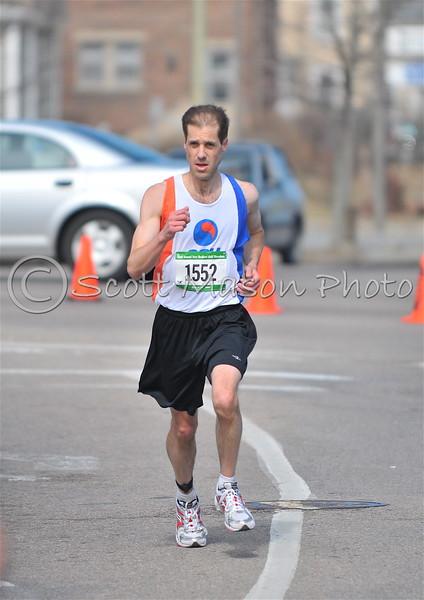 New Bedford Half marathon 2009 1:20-1:25