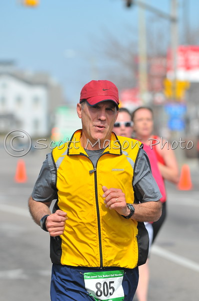 New Bedford Half marathon 2009 1:30- Up