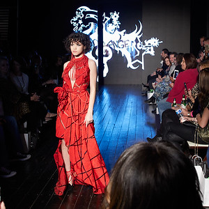 OFFICIAL GREENVILLE FASHION WEEK - JANUARY 26, 2109;  Model @scarletblade