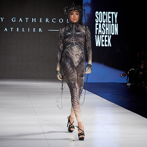 The Society Fashion Week Los Angeles 10:30 Show October 13, 2018   Designer -  Rocky Gathercole @verygathercole