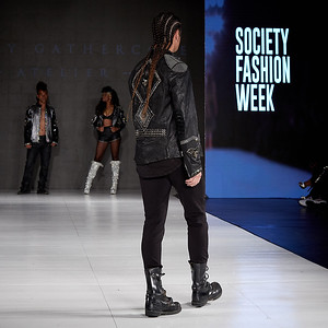 The Society Fashion Week Los Angeles 10:30 Show October 13, 2018  Designer - Elie Madi @eliemadi for @forthestarsfashionhouse