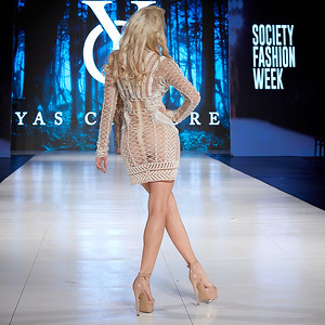 The Society Fashion Week Los Angeles 10:30 Show October 13, 2018  Label - Yas Couture @yascouture
