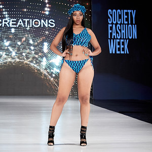 The Society Fashion Week Los Angeles 4:30 Show October 13, 2018  Designer - TC Creations  Model - Kiyonte Carter @kiyontecarter