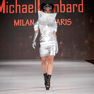 The Society Fashion Week Los Angeles 8:30 Show October 13, 2018  Designer - Michael Lombard