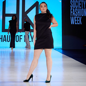 The Society Fashion Week Los Angeles 8:30 Show October 13, 2018  Designer - Haus of Klyde  Model - Brittany Elizabeth. @brittstheone