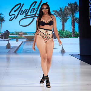 The Society Fashion Week Los Angeles 8:30 Show October 13, 2018  Designer - SHALAJA  Model - Kiyonte Carter @kiyontecarter