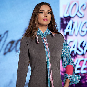 The Society Fashion Week Los Angeles 4:30 Show October 13, 2018  Designer - Jeanie Madsen  Model - Hailey Frey @hailzfrey
