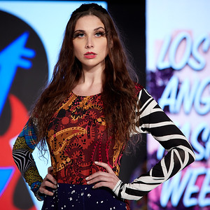 The Society Fashion Week Los Angeles 4:30 Show October 13, 2018  Designer - Burning Guitars